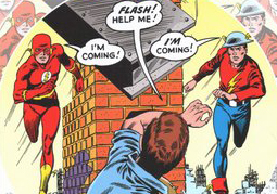 The 100 Graphic Novels You Should Read While Stuck Inside: Day Fifty-eight: The Flash Of Two Worlds Deluxe Edition