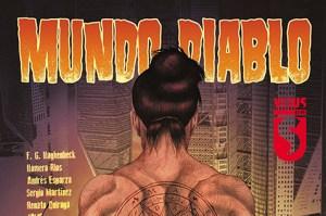 Heavy Metal's VIRUS imprint Announces the release of New Graphic Novel Mundo Diablo