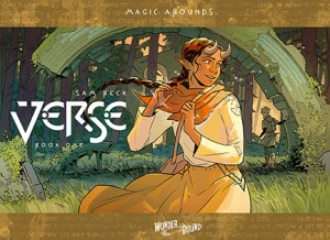 Wonderbound Announces Verse, A Young Adult Fantasy Graphic Novel From Sam Beck