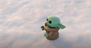 Baby Yoda Sees His First Snowfall In A Lego Star Wars Video