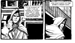 Previewing Another Two Pages Of The Sherlock Holmes And The Empire Builders Strip Lettered