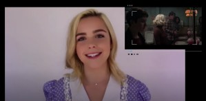 Shooting An Iconic Scene From The Chilling Adventures Of Sabrina Seasons Four