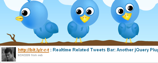 Realtime related tweets