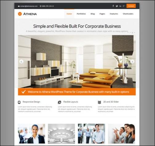 athena-simple-flexible-corporate-business-theme