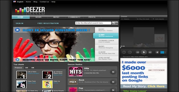 35 Cool Music Website Designs For Inspiration