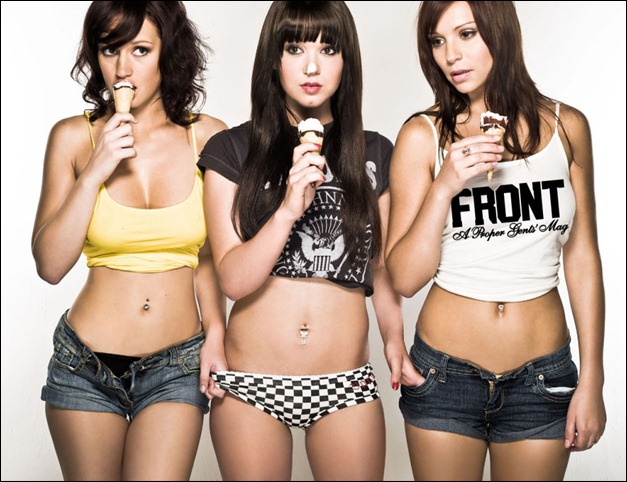 Front Mag Girls