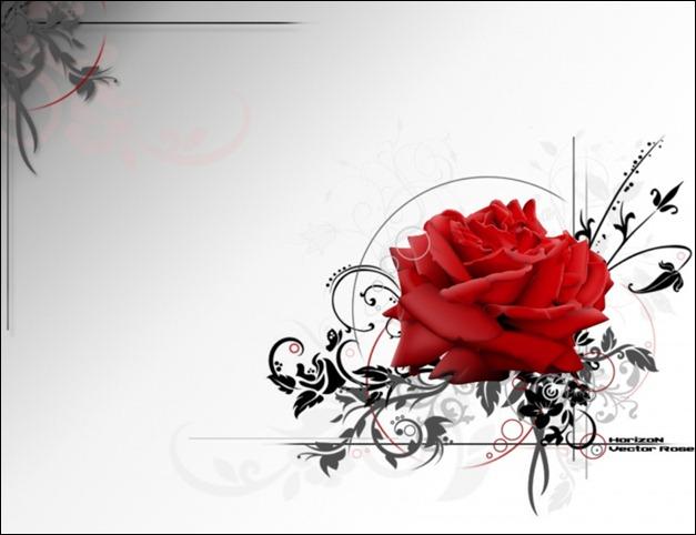 vector_rose