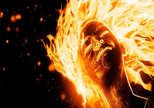 Flaming Photo Manipulation
