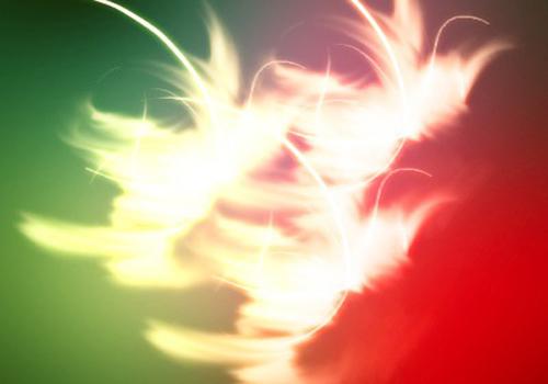 Magic light streak