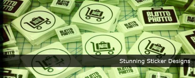 45+ Stunning Sticker Designs