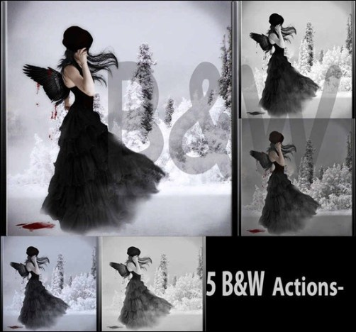 black-and-white-ps-actions