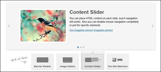 ROYAL SLIDER – Touch Content Slideshow for WordPress