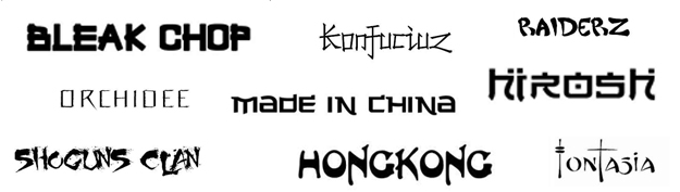60+ Great Japanese and Chinese Fonts for Download