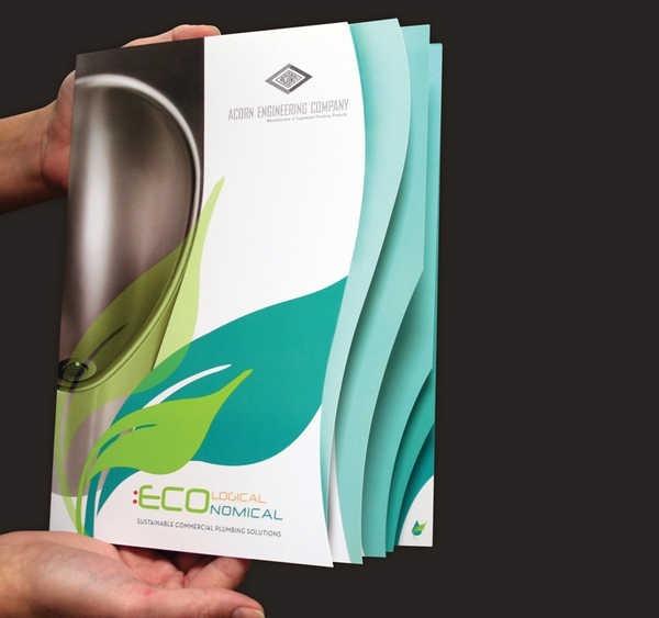 30 Creative Die Cut Brochure Designs For Inspiration