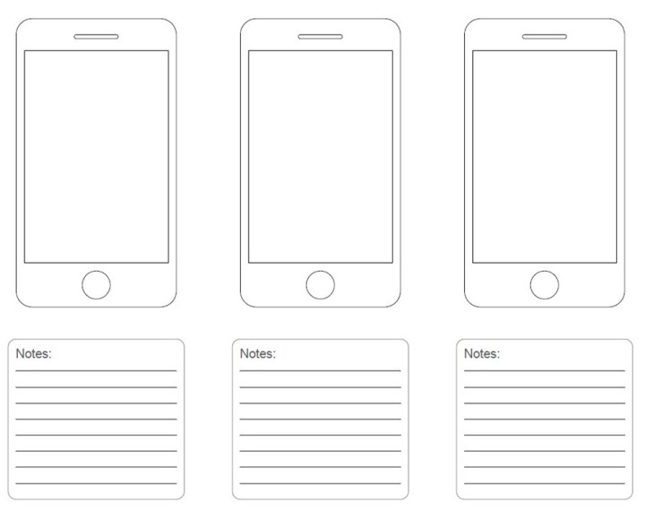 Wireframe Templates | Frameswall.co