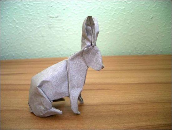 rabbit-origami
