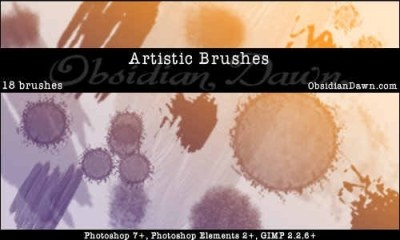 artistic-brushes
