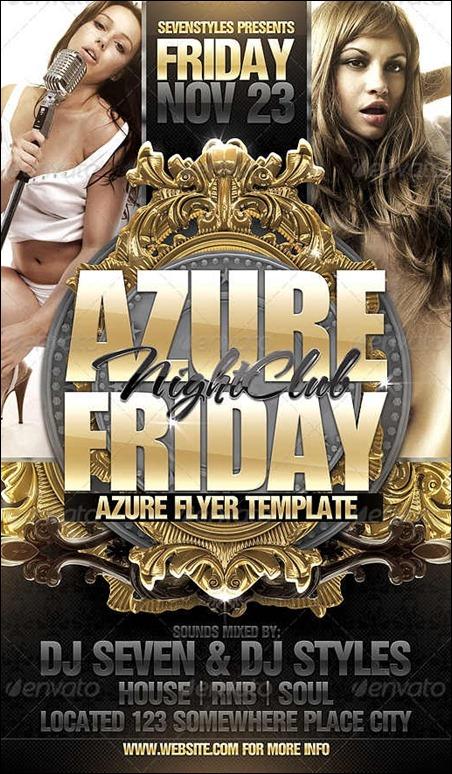 azure-flyer-template