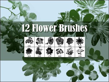 12-flower-brushes