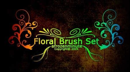 floral-brush-set