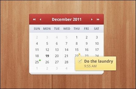 calendar-widget-psd