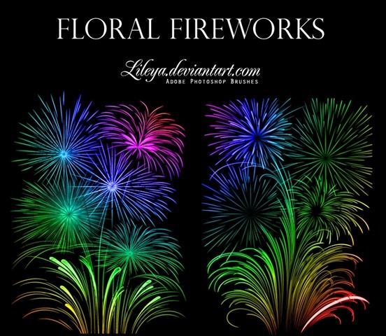 floral-fireworks