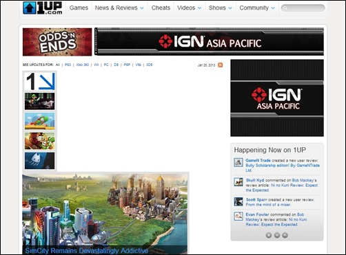 1up-gaming-websites