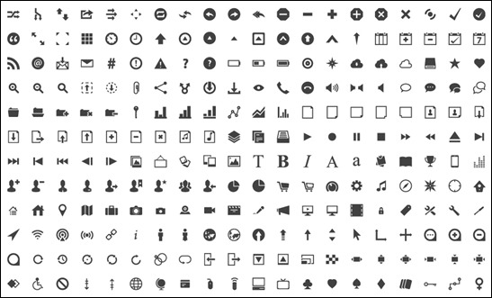 30 Great Collections of Glyph Icons For Designers