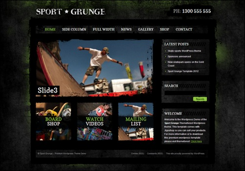 sport-and-grunge-dark-wordpress-shop-newsletter-theme