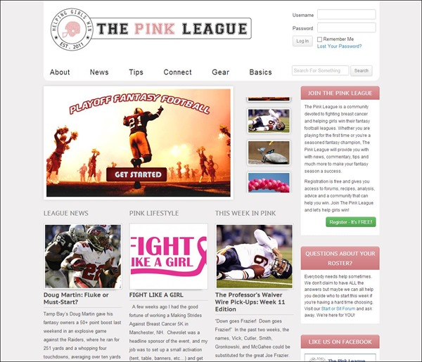 Thepinkleague