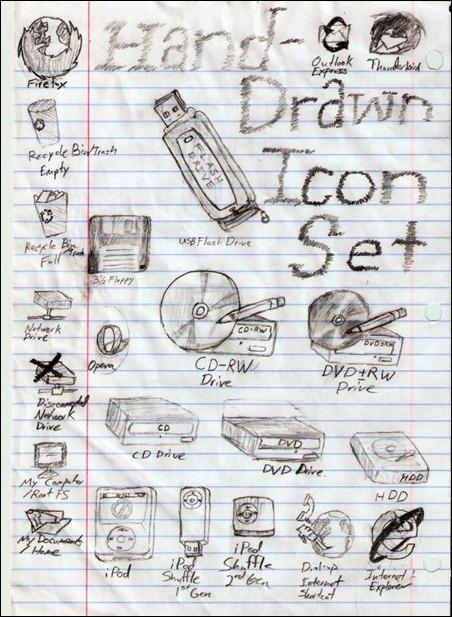 hand-drawn-icons--