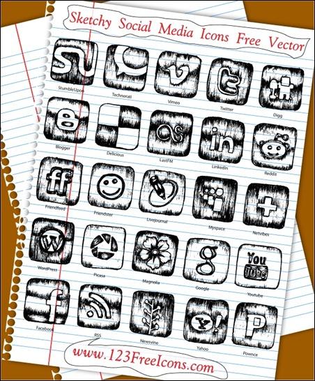 sketchy-social-media-icons-free-