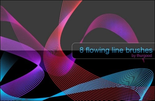 flowing-line-brushes