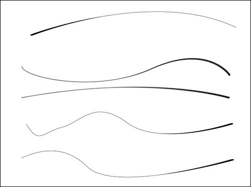 How To Make A Curved Line In Photoshop