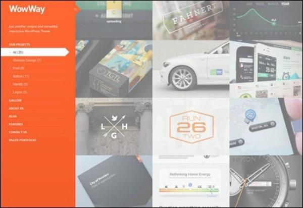 WowWay – Interactive & Responsive Portfolio Theme