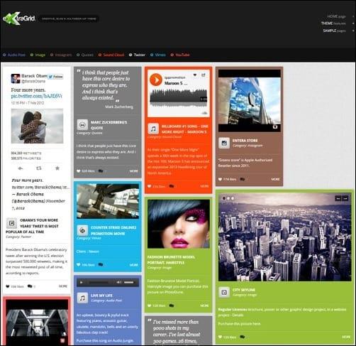 060 WordPress masonry theme