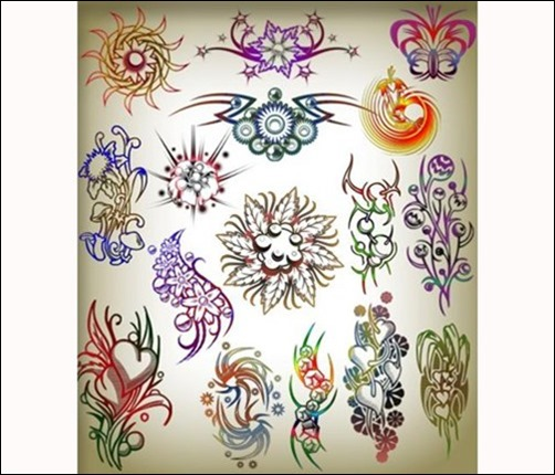 Brushes-tattoos-for-Photoshop