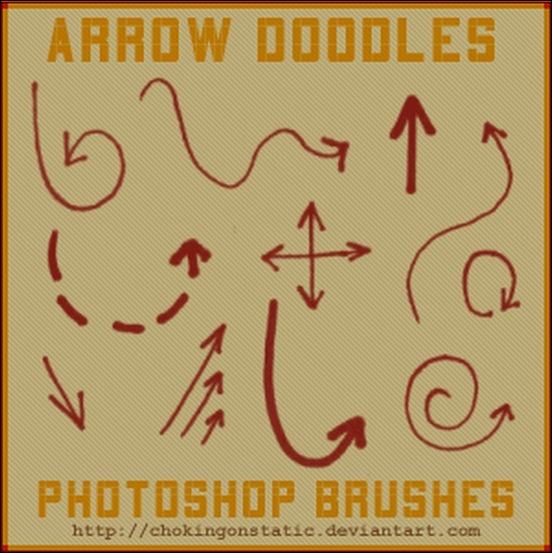 arrow-doode-brushes