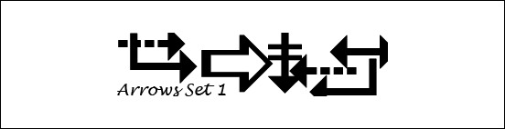 arrows-set-1