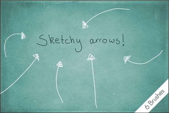 sketchy-arrows