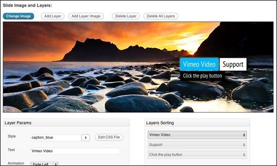 KenBurner WordPress Slideshow Plugin WordPress slideshow plugin offers the combination of Ken Burns Effect.