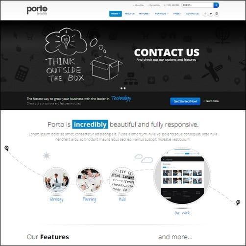 porto drupal 7 theme