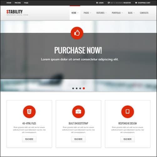 Stability - Responsive Drupal 7 Ubercart Theme