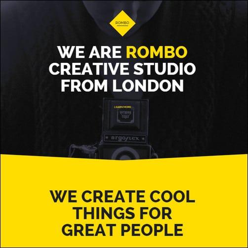 Rombo - Multipurpose Portfolio Muse Template