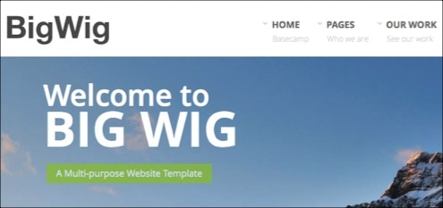 30+ Great Ready to Use Corporate HTML Website Templates