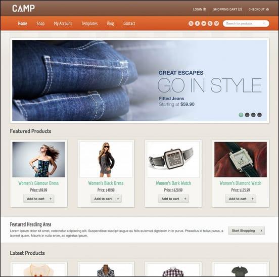 camp-responsive-ecommerce-theme