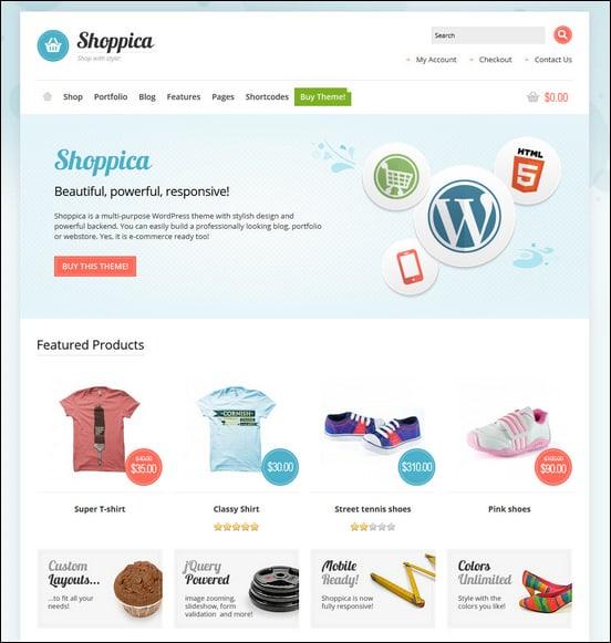 shoppica-responsive-ecommerce-wordpress-theme