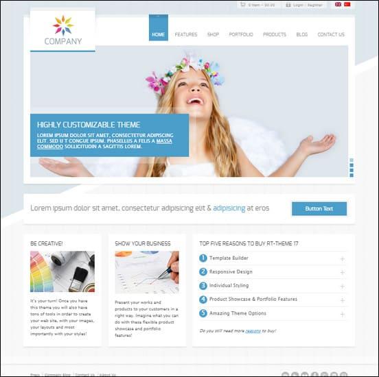 RT-Theme 17 Responsive WordPress Theme