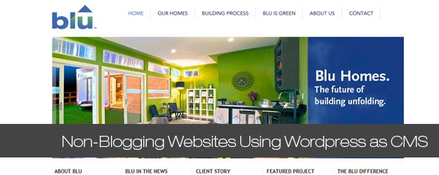 20+ Awesome Non-Blogging Websites Using WordPress as CMS
