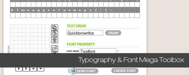 60+ Typography & Font Mega Toolbox